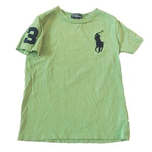 Ralph Lauren Big Pony Tee Shirt Sz 6